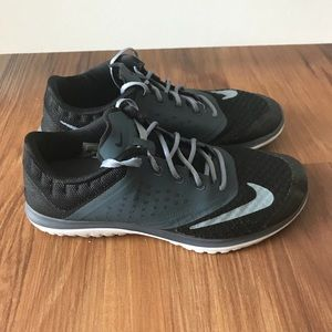 Nike Blue, Black and Gray Running Shoes